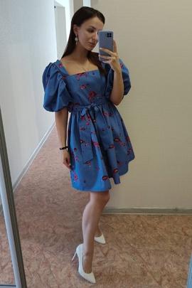 Платье Юни.                                 cover of user feedbackКсения