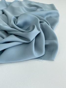 Искуственный шелк (тонкий), голубой