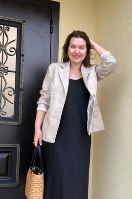 Жакет Ноэль.                                 cover of user feedback@olya_yurievna_
