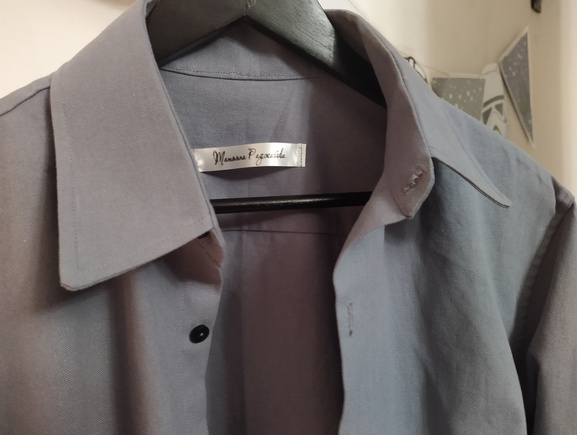 Рубашка из плотного хлопка