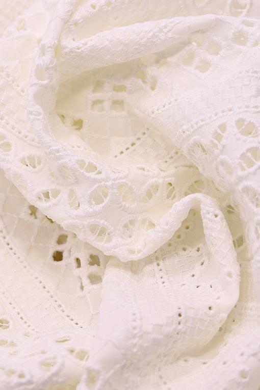 Шитье, ромбы (белый)