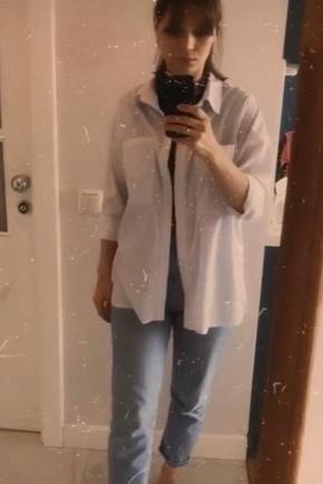 Рубашка Oversize БЕЗ ОВЕРЛОКА😍