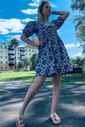 Платье из блузы Дебора