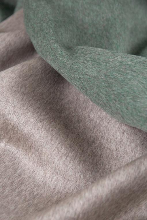 Пальтовая, (двухслойный) серый изумруд