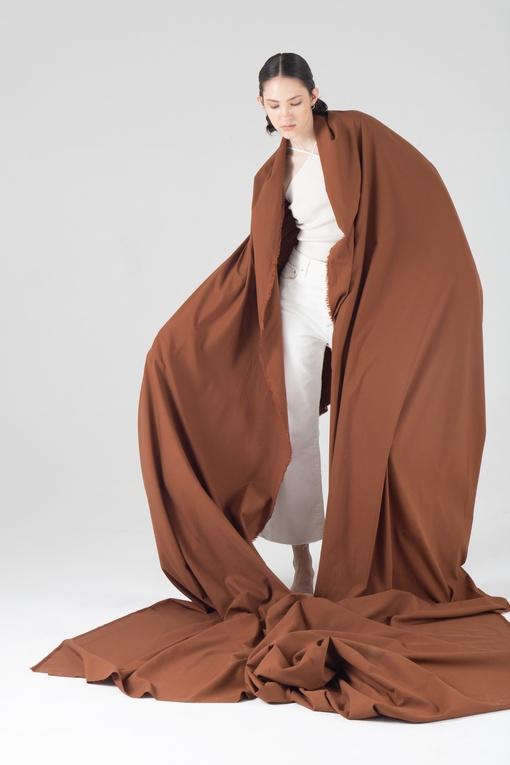 Экохлопок, коричневый