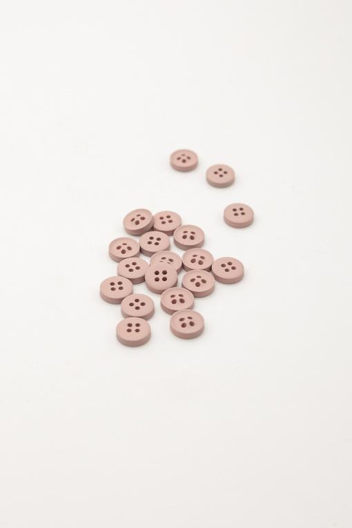 Пуговицы, бежево-розовый (d 1 см)