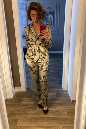 Шила пижаму, а получился шикарный костюм!