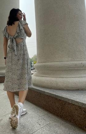 Первый раз шила платье в таком стиле!