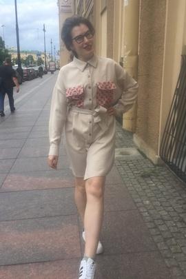 Платье-рубашка Адель.                                 cover of user feedbackЧиркова Юля