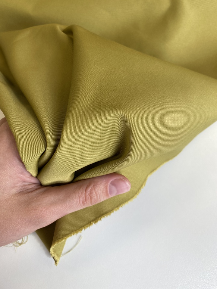 Плащевая, желто-зелёный