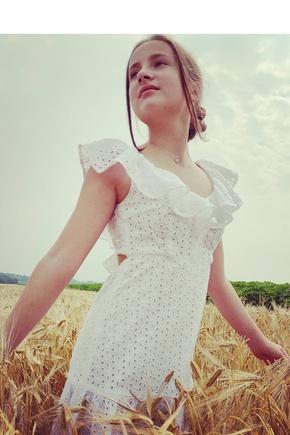 Платье воздух