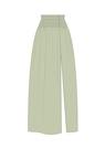 """Комплект """"Зелёный"""" (сорочечная) для юбки Сирена"""