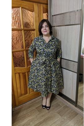 Платье Максим (size +).                                 cover of user feedbackСветлана 116890