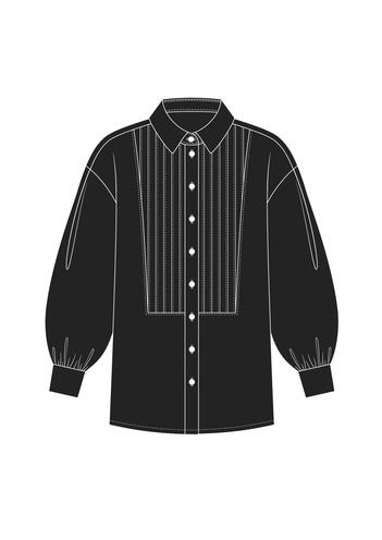 """Комплект """"Черный"""" (сорочечная)"""