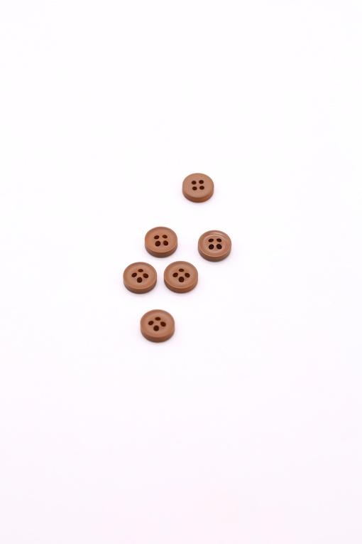 Пуговицы, коричневый (d 1см)