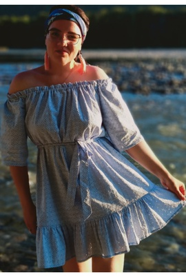 Платье Лизи.                                 cover of user feedbackPolyaEva