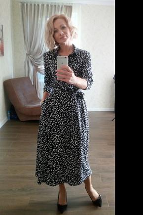 Платье отличное! Благодаря подробной инструкции, легкое в пошиве даже для новичка.