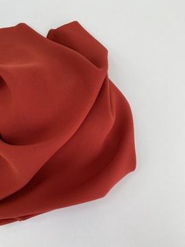 Искуственный шелк (тонкий), красный