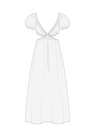 """Комплект """"Белый"""" (хлопок) для платья Уна"""