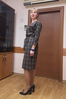 Платье Агата.                                 cover of user feedbackБаринова Ирина