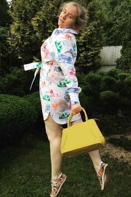 Платье-рубашка Адель.                                 cover of user feedbackСелезнева Олеся