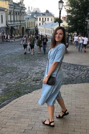 Женственное платье на лето