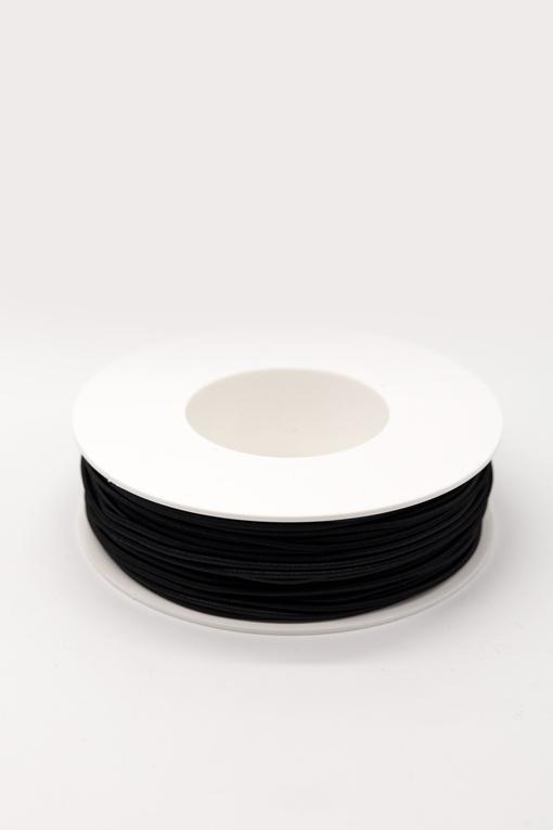 Резинка шляпная, черный