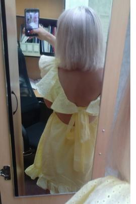 Платье Милана.                                 cover of user feedbackПользователь 123883