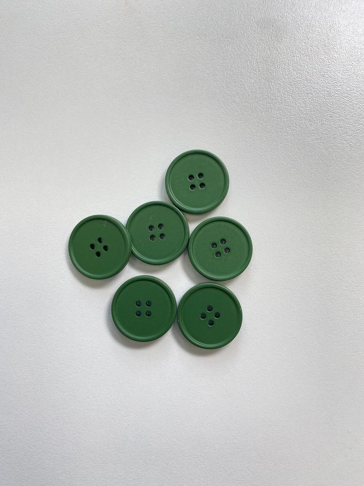 Пуговицы, травяной зеленый