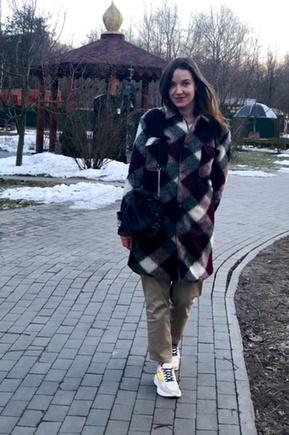 Отличное пальто и супер выкройка
