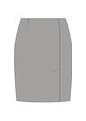 """Комплект """"Глубокий серый"""" для юбки Агния"""