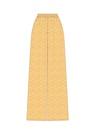 """Комплект """"Белые веточки на жёлтом"""" (п/э) для брюк Мара"""