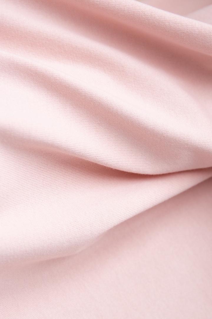 Кулирная гладь плотная, розовый
