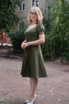 Моё первое платье по лекала Викисе