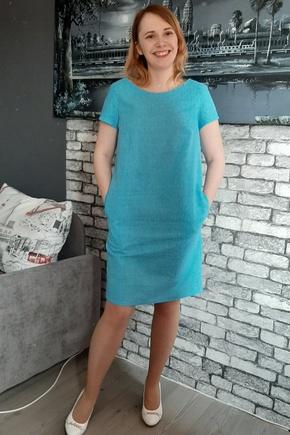 Простое, но интересное платье