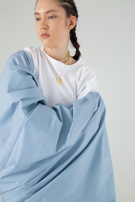 Сорочечная, голубой