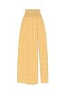 """Комплект """"Белые веточки на жёлтом"""" (п/э) для юбки Сирена"""