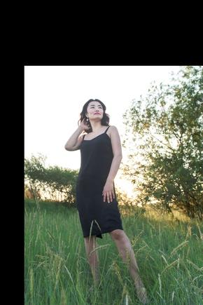 Любимое платье комбинация, легко шить, легко вписывается в гардероб