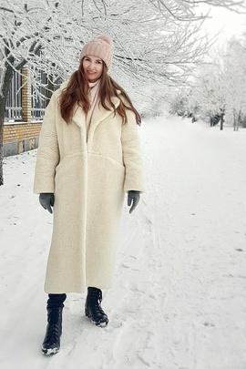 Курс по пошиву мехового пальто Лиа (курс+выкройка).                                 cover of user feedbackГубина Мария Евгеньевна