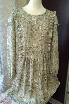 легкое романтичное платье