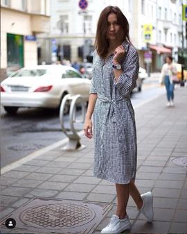 Платье-рубашка Адель.                                 cover of user feedbackАдминистратор 2