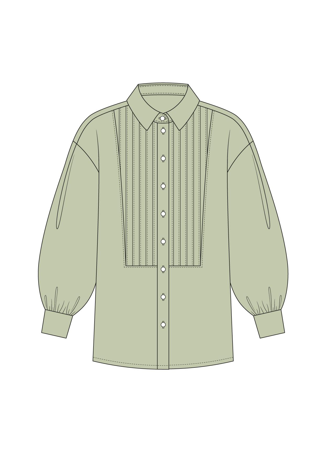 """Комплект """"Зеленый"""" (сорочечная)"""