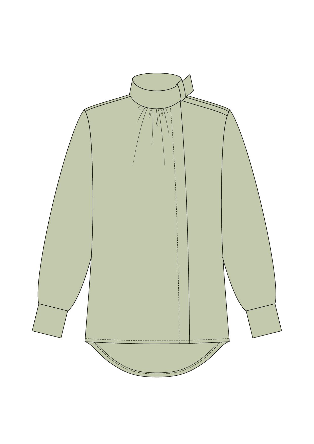 """Комплект """"Зелёный"""" (сорочечная)"""
