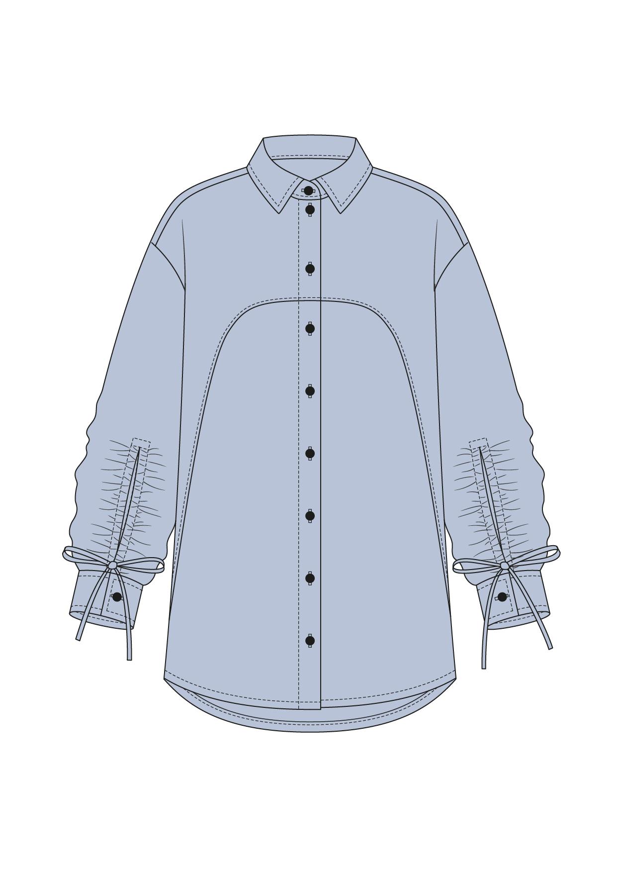 """Комплект """"Голубой"""" (сорочечная)"""