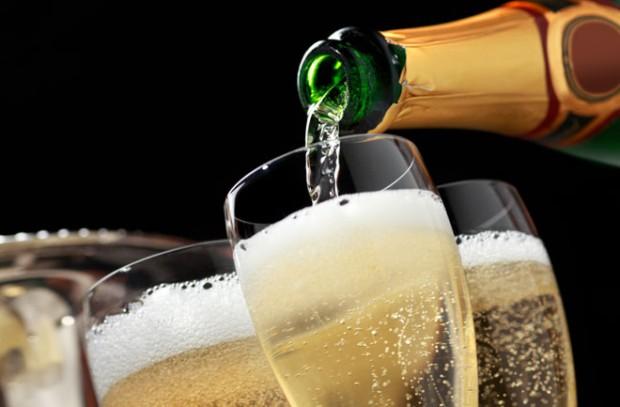 5 champagner