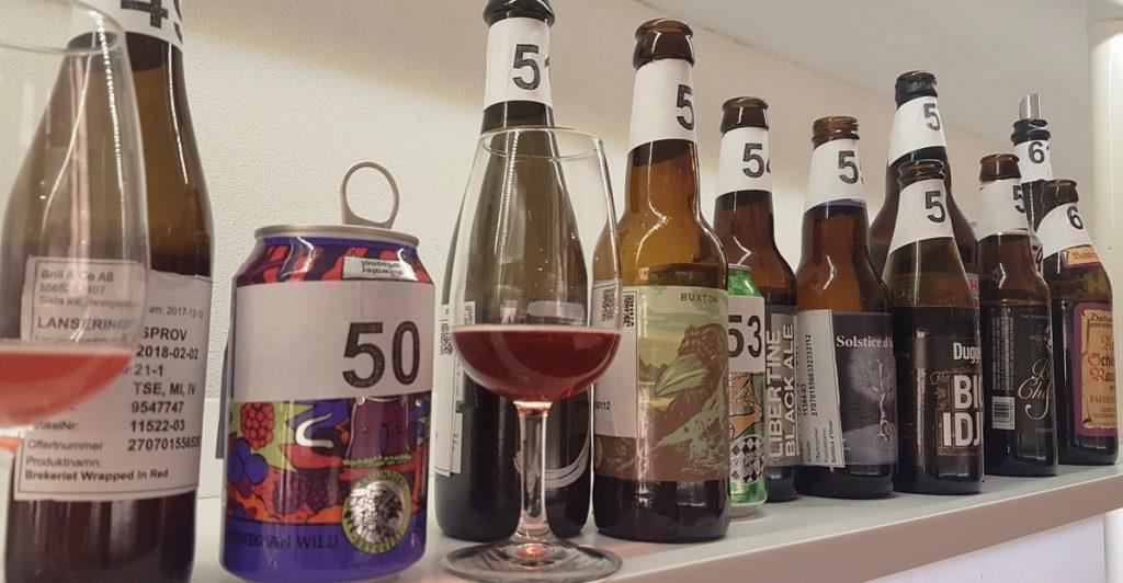 Vinbanken har provat och recenserat alla nya öl på systembolaget den 2 februari 2018