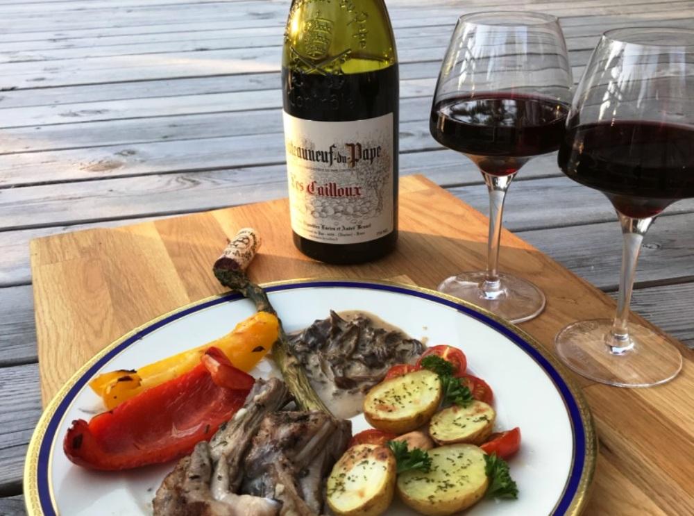 chateauneuf-du-pape-les-cailloux-till-marinerade-lammracks-vinbanken