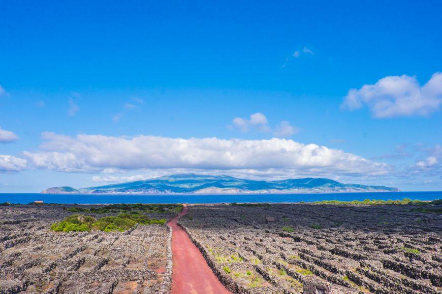 Utsikt azorerna pico