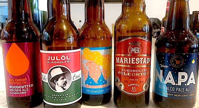 Alkoholfri JULÖL på Systembolaget - goda val