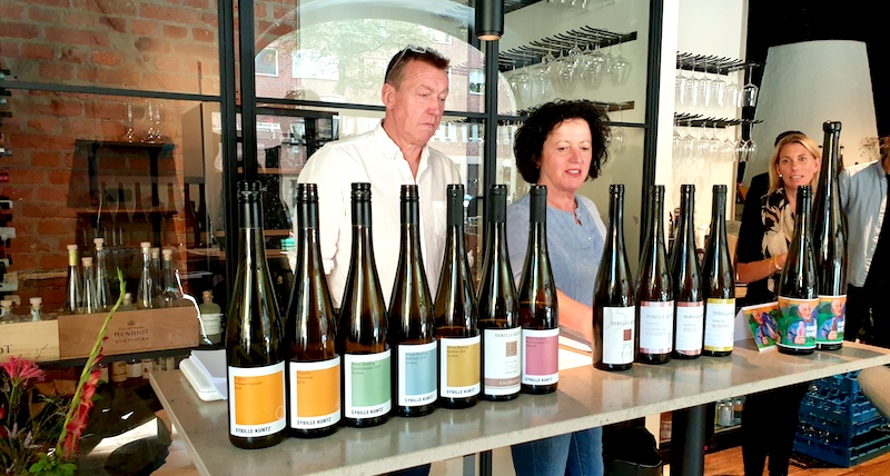 Riedlin Brillant-tyskt druvdestillat av klass-vinbanken